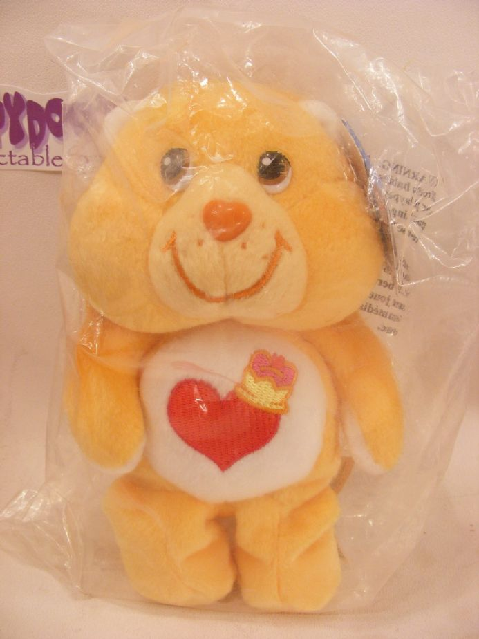 "MISB 20TH ANNI 8"" BRAVEHEART LION CARE BEARS BEANIE"